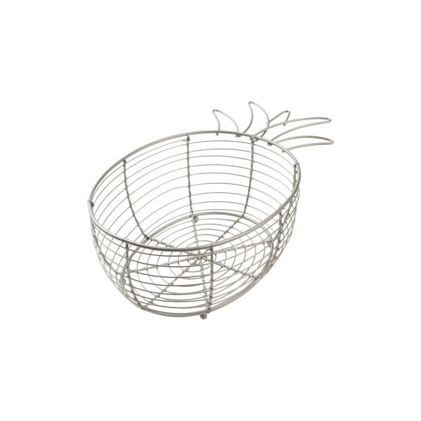 Tutti Frutti Pineapple Basket Satin Grey image